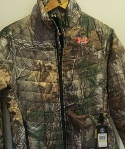 REALTREE Under Armour puffer jacket NWT Large  MED